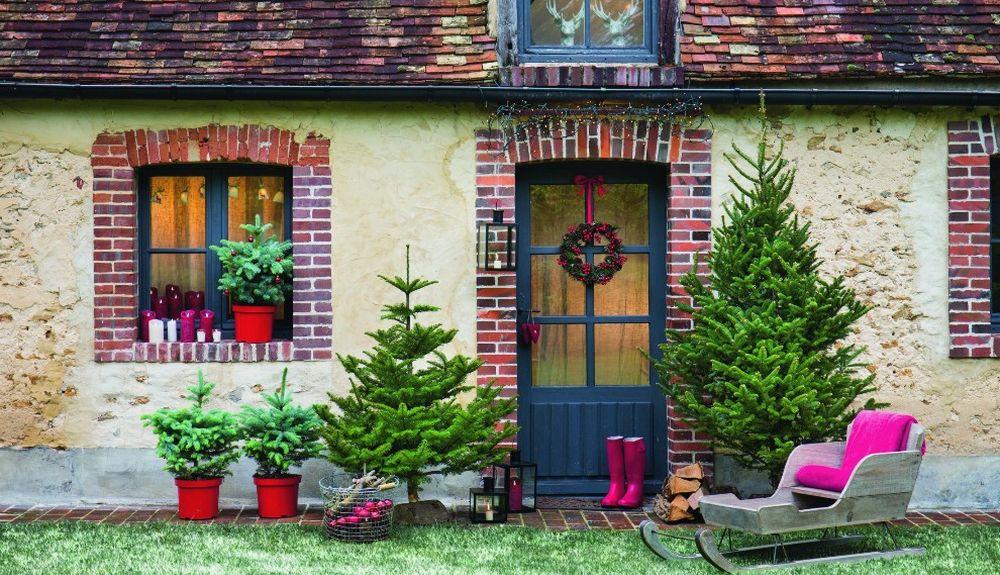 Noël : Idées décoration de jardin minimaliste pour jardin